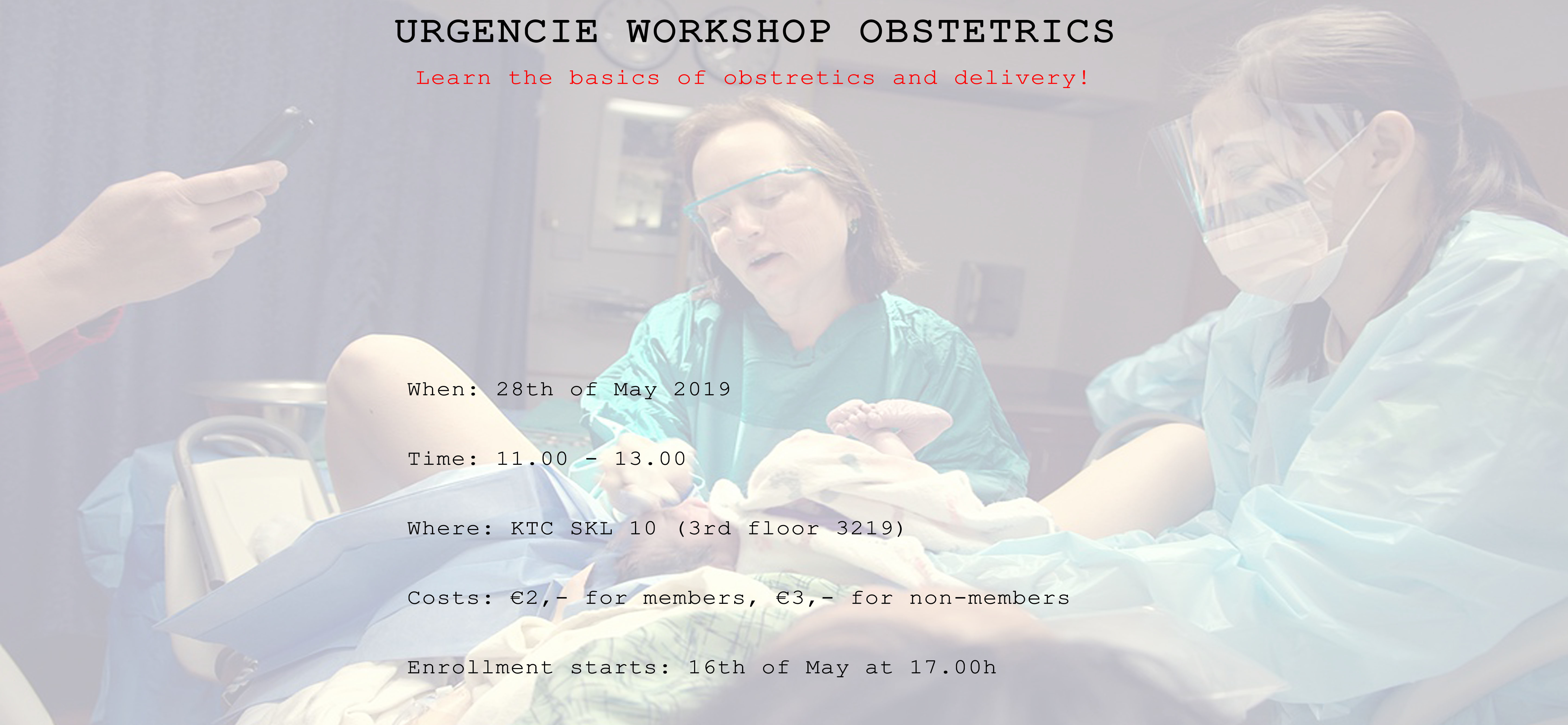 UrgenCie Workshop Obstetrics